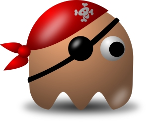 152-Avatar-Pirate-Character-Wearing-Eyepatch-And-Bandana-Free-Vector-Clipart-Illustration